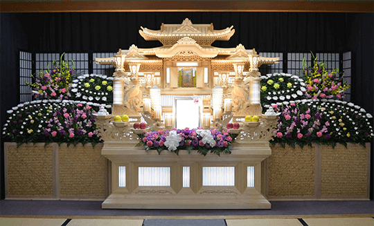 葬儀用装飾花