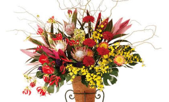 祝いスタンド花